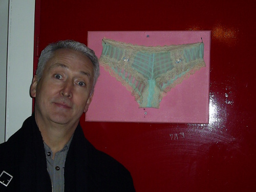 Nigel and the nailed-up knickers