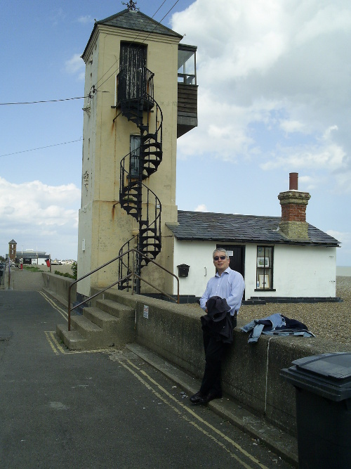 Smee and lookout tower at Aldeburgh