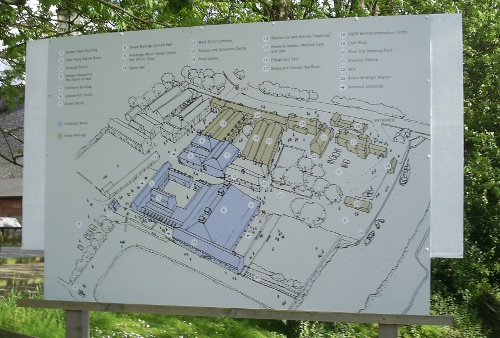 Snape - plan view of the Maltings