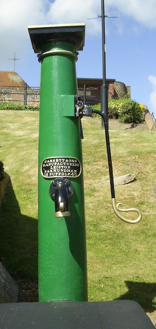 Aldeburgh - pump gifted to the town by Garrett's of Leiston 1840
