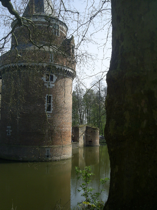 Castle in the moat